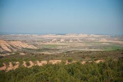 Bardenas reales, Navarra, Spain Stock Photo