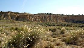 Bardenas Reales pustynia Hiszpania Fotografia Royalty Free