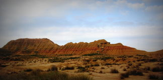 Bardenas Reales, Spain Stock Images