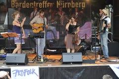 Bardentreffen in Nuremberg, Germany Stock Images