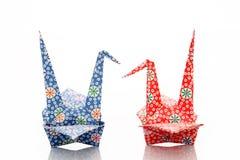 Bardes d'Origami Images libres de droits