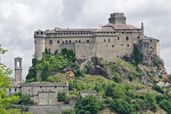 Bardi Castle. Emilia-Romagna. Italy. Stock Photography