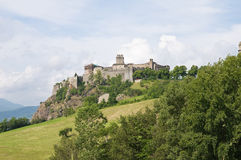 Bardi Castle. Emilia-Romagna. Italy. Royalty Free Stock Photo