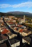 Bardi city Italy. Overview of city of Bardi, Emilia-Romagna region, Parma province, Italy Royalty Free Stock Image