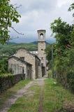Bardi. L'Emilia Romagna. L'Italia. Fotografia Stock