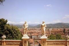 Bardini Gardens in Italy Stock Image