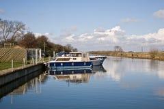 Bardney Lock Royalty Free Stock Images