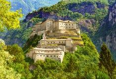 Bardo forte medievale famoso in tempo soleggiato fotografie stock