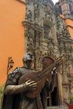 Bardo in Guanajuato lizenzfreie stockfotos