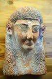 Bardo Museum. Clay sculpture in Bardo Museum, Tunis, Tunisia Stock Photo