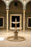 Bardo museum fountain Royalty Free Stock Photos