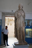 Bardo Museum, Tunis, Tunisia. The Bardo museum, renowned for its collection of antiquities, is a major attraction in Tunis stock image