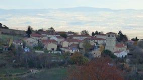 Bardo, un villaggio nel forez di livradois, auvergne, Francia fotografie stock libere da diritti