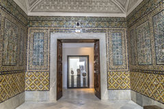 Bardoen Tunisien Arkivfoton