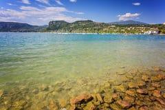 Bardolino coast Royalty Free Stock Image