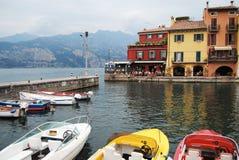 Bardolino - lago Garda, Itália Fotografia de Stock Royalty Free