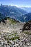 Bardonecchia dolina, podgórska, Włochy Obrazy Stock