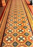 Bardzo ładna rocznik podłoga w pałac Bangalore Zdjęcia Royalty Free