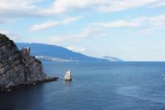 Bardzo ładny widok morze Zdjęcia Stock