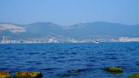Bardzo błękitny Czarny morze zdjęcie royalty free