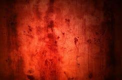 Bardzo brudna czerwona grunge tekstura royalty ilustracja