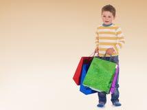 Bardzo ciężkie torby Obraz Royalty Free