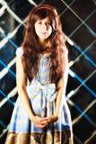 Bardzo delikatna piękna dziewczyna w stylu anime Zdjęcia Royalty Free