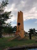 Bardzo duży hairpin w Azerbejdżan obrazy stock