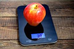 Bardzo duży jabłko Fotografia Stock