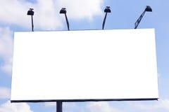Bardzo majestatyczny nadzwyczajny billboard w niebie Zdjęcia Royalty Free