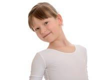 Bardzo piękna mała atleta Fotografia Stock