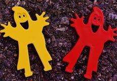 Bardzo piękni dzieci zabawkarscy dla chłopiec i dziewczyn obraz royalty free