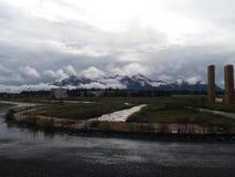 Bardzo piękna góra Zdjęcia Stock