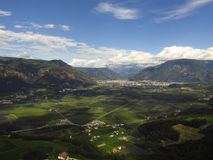 Bardzo Piękny góra krajobraz Zdjęcia Royalty Free