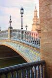 Bardzo piękny plac De españa Obrazy Royalty Free