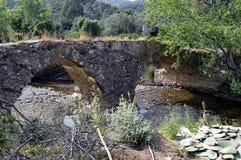 Bardzo poprzedni most w kamieniach Obraz Royalty Free