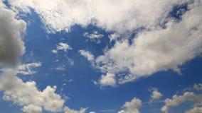 Bardzo rzadka sfera chmurnieje timelapse Fotografia Stock