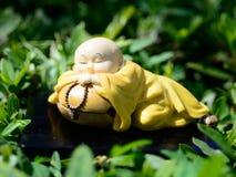 Bardzo stara japońska statua Zdjęcie Stock