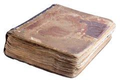 Bardzo stare antyczne książki odizolowywać Zdjęcia Stock