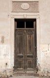 bardzo stare drzwi Zdjęcie Royalty Free
