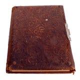 Bardzo starej książki pokrywa Obrazy Stock