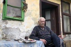 bardzo stary człowiek Zdjęcia Royalty Free
