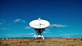 Bardzo Wielcy szyk przestrzeni radia naczynia VLA obserwatoria 4k - czasu upływ - zdjęcie wideo