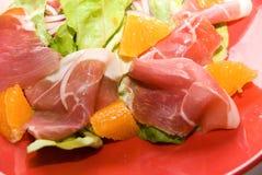 Bardzo wyśmienicie mięsny jedzenie fotografia stock