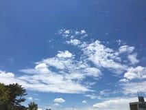 bardzo wypięknia niebo zdjęcia stock