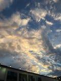 bardzo wypięknia niebo Fotografia Royalty Free
