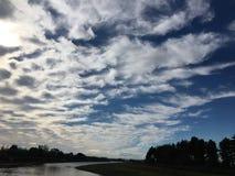 bardzo wypięknia niebo Obrazy Royalty Free