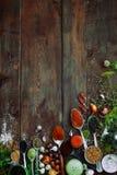Bardzo zamyka pikantność i ziele Fotografia Stock
