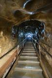 Bardzo zgłębia nowożytnej solankowej kopalni w Transylvania Obraz Stock