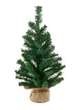 Bare artificial christmas tree Stock Image
